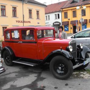 18.-19.6.2011   Sraz všech značek --> soutěž zařazena do pohárové soutěže o Český pohár historických vozidel AVCC AČR